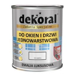 Emalia jednowarstwowa LUKSUSOWA Dekoral biała 0,65 l