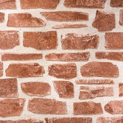 Tapeta Brickwork Red