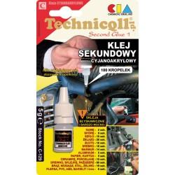 Klej SEKUNDOWY Technicqll 5 g