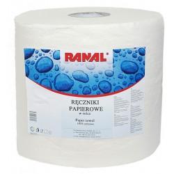Ręcznik papierowy biały