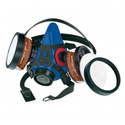 Maska lakiernicza SECURA 2000 + filtry (KOLOR PRZYKŁADOWY)