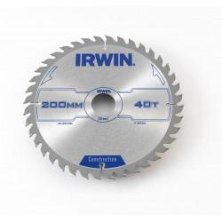 Piła tarczowa IRWIN 200x2,5 mm 40T