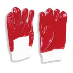 Rękawice robocze pokryte PVC krótkie