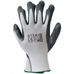 Rękawice robocze powlekane nitrylem TENI