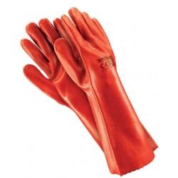 Rękawice robocze pokryte PVC długie