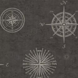 Tapeta 2604-21215-OXD OXFORD FD Navigate Black 10,05x0,52m