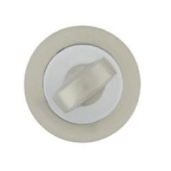 Szyld okrągły do Presto/Romana satyna WC