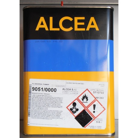 Rozcieńczalnik PUR ALCEA szybki 5 l