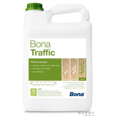 Lakier TRAFFIC Bona 4,95 l
