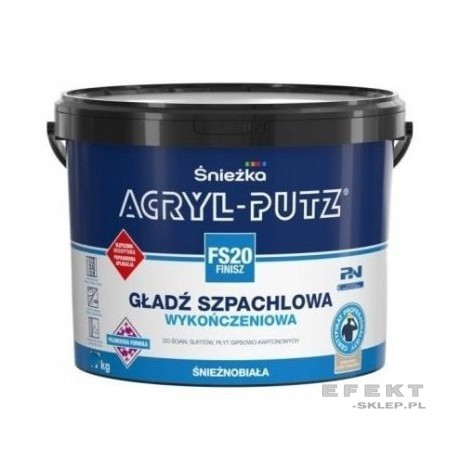 ACRYL-PUTZ FINISZ 8 kg