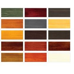 Impregnat EXTRA Drewnochron 0,75 l - paleta kolorów