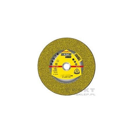 Tarcza Klingspor 125/2,5 mm A24 Extra