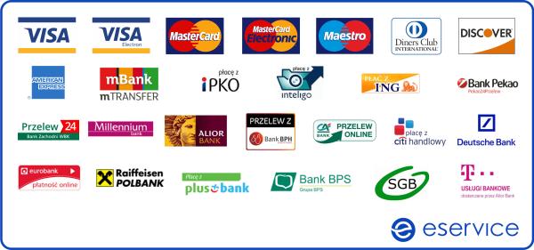 płatności elektroniczne - eService